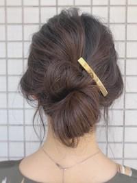 夏のヘアアレンジいろいろ